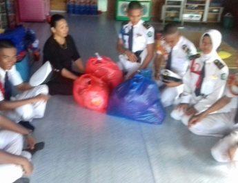 SMK DDI Bantu Korban Kebakaran