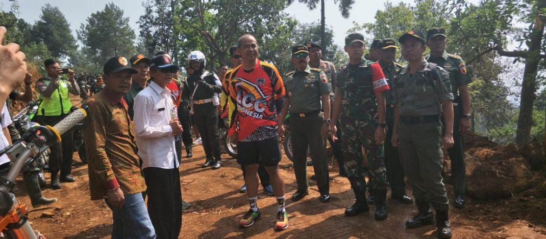 Pangdam V/Brawijaya Kunjungi Lokasi TMMD Di Mojokerto