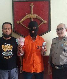 Tipu Ketua RW Pria Ngaku Caleg DPR – RI, Di Bekuk Polisii