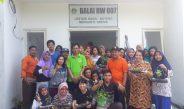 Mahasiswa Universitas Airlangga KKN di Boteng