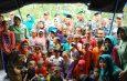 Muspida Tanah Bumbu, Bupati, Dandim Dan Kapolres Kunjungi Pengungsi Banjir Desa Maju Makmur