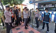 Kapolda Jatim Lakukan Pengecekkan Pos Penyekatan Berfungsi Optimal Di Jatim