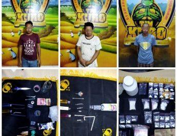 3 Pelaku Pengedar Sabu Di Lumajang Apes dicekel Polisi