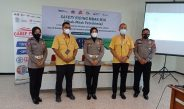 Sambut Hari Bhayangkara ke 75,Polantas Gresik Beri Edukasi Safety Riding Bagi Karyawan Petrokimia