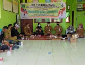 Wabub Tanbu Buka Pra Musrenbangdes 2021 di Desa Lasung