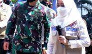Panglima TNI Puji Cakupan Tracing Pemkab Mojokerto